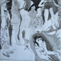 party-scene (sold)