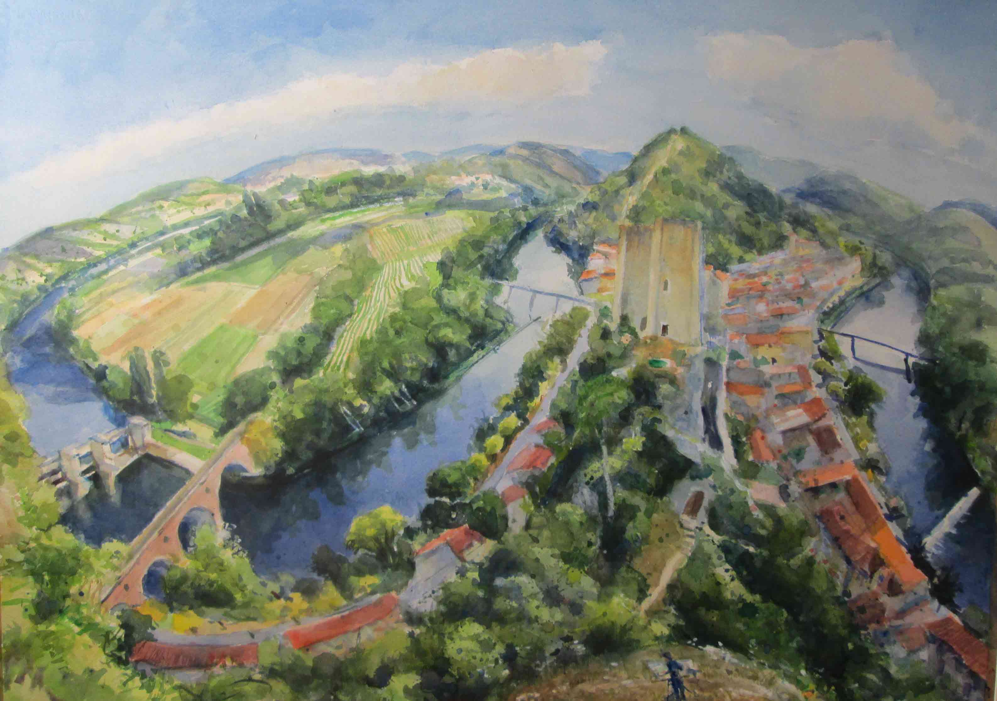 Above-Luzech. private collection