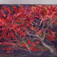 Sumac a Labrousse. 21x16 sold