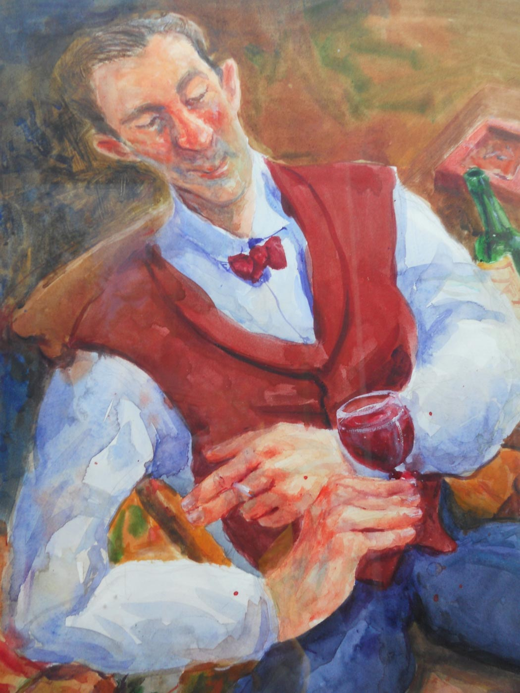 Sommelier-at-rest 45x60 Sold