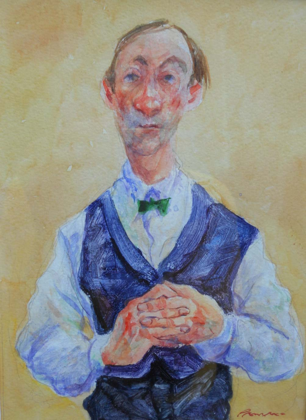 Wine-waiter-(yellow). Sold