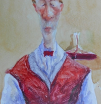 Sommelier-with-caraffe. sold