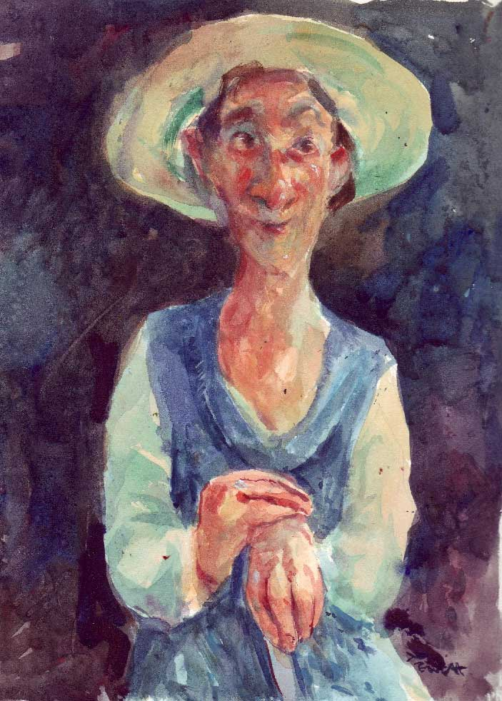 peasant-woman.  Sold