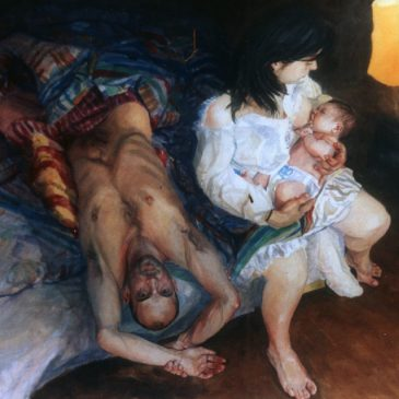 painting bed family